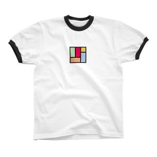 カラフル四畳半 リンガーTシャツ