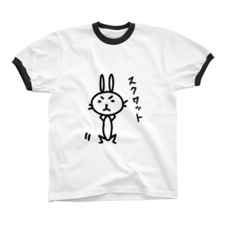 スクワット リンガーTシャツ