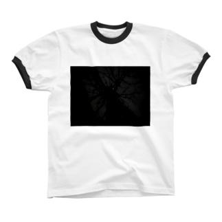 怪木 リンガーTシャツ