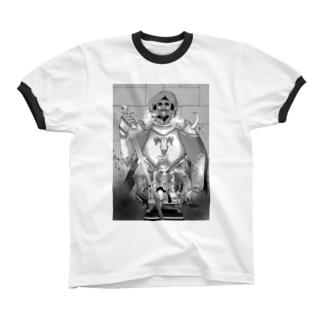 暗黒騎士 リンガーTシャツ