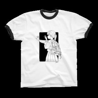 ツヅキエイミ  オリジナルグッズショップのまだ撮らないで! Ringer T-shirts