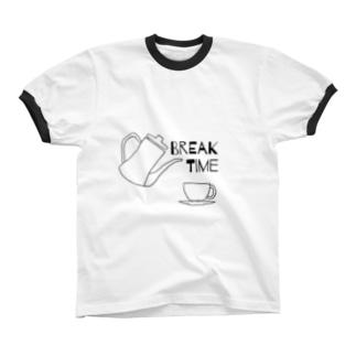 breaktime Ringer T-shirts