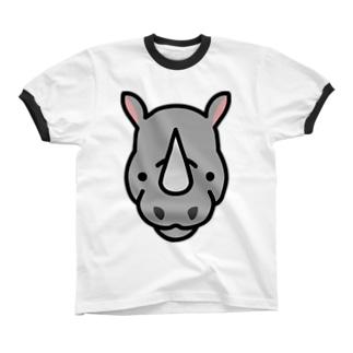 ほごしてくだサイ Ringer T-shirts