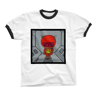 2019:A  SPACE ODYSSEY リンガーTシャツ