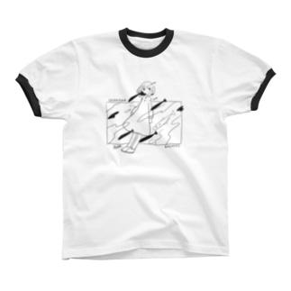 SAKANA Ringer T-shirts