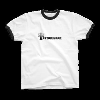 Shugo MaedaのTextbringer Ringer T-shirts