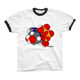 あでのしんさんりんさん Ringer T-shirts