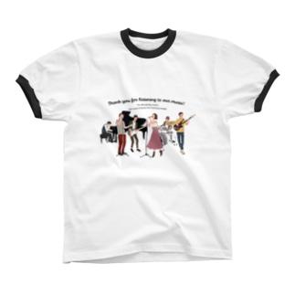 love music Ringer T-shirts