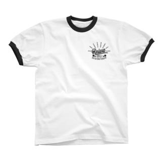 """ビンテージ風""""令和"""" Ringer T-shirts"""