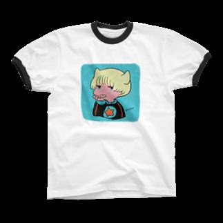 SPACEのたいくつ Ringer T-shirts