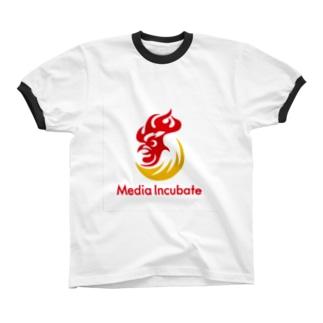 メディアインキュベートストア Ringer T-shirts