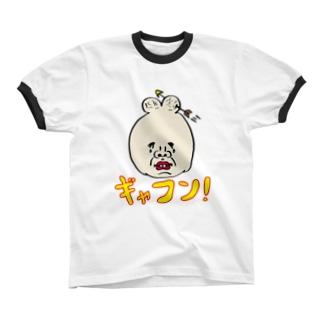 ギャフン! Ringer T-shirts