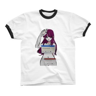 あ Ringer T-shirts