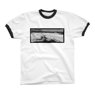 Too cool_to you mono Ringer T-shirts