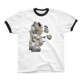 リサイクル Ringer T-shirts