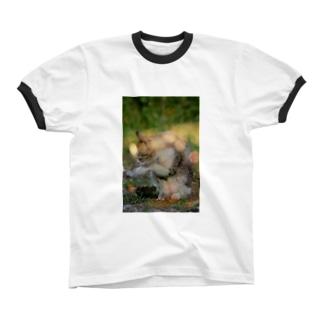 初夏。 Ringer T-shirts