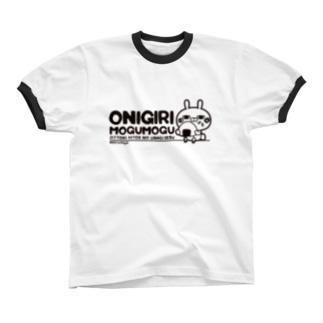 ひとえうさぎ  Ringer T-shirts