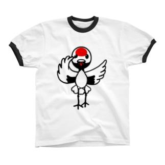 カムタン リンガーTシャツ