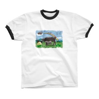 We hope… Ringer T-shirts