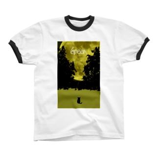 Green Ringer T-shirts