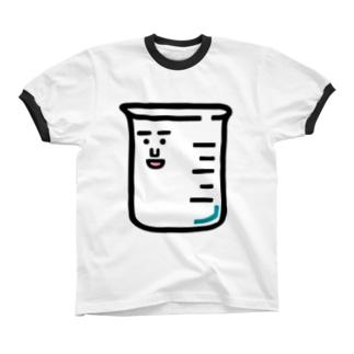 キャラNo.1ビーカーくん リンガーTシャツ