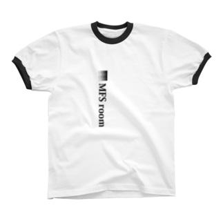 MFS room trim2(黒) リンガーTシャツ