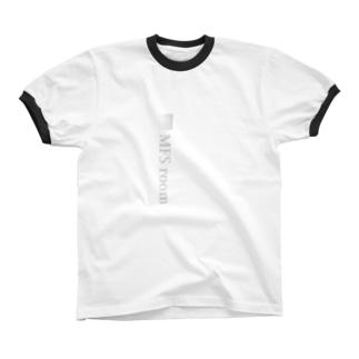 MFS room trim3(淡い灰色) リンガーTシャツ