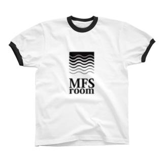 MFS room trim5(黒) リンガーTシャツ