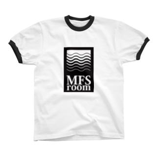 MFS room trim11(黒) リンガーTシャツ