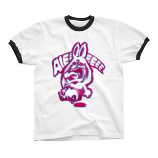 AIEEEEE... リンガーTシャツ