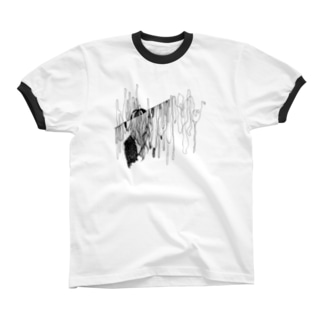 私の Ringer T-shirts