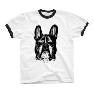 ドンの肖像 Ringer T-shirts