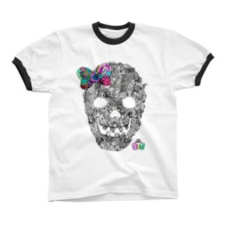 有坂愛海×326「グロスカルリボン」 リンガーTシャツ