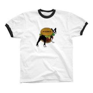 ボステリバーガー リンガーTシャツ