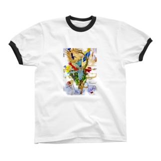 若者の選択 リンガーTシャツ