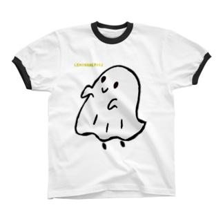 シーツおばけ リンガーTシャツ