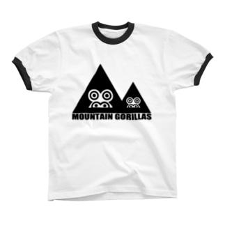 mountaingorillas リンガーTシャツ