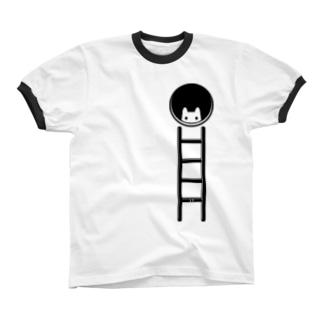 チラ見 リンガーTシャツ