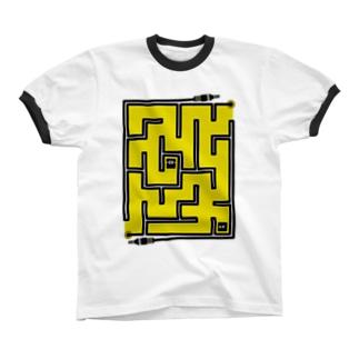 迷路 リンガーTシャツ