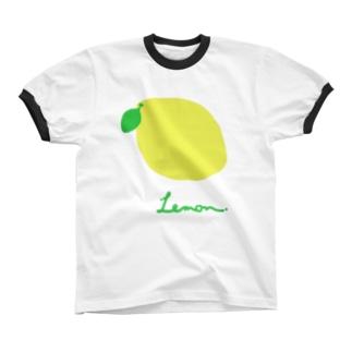 .Lemon. Ringer T-shirts