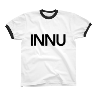INNU (doge in Japanese) Ringer T-shirts