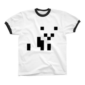 パンダ🐼 リンガーTシャツ