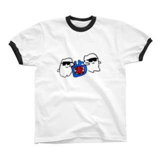 歯のかっこいいTシャツ リンガーTシャツ