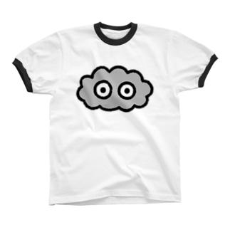 くも Ringer T-shirts