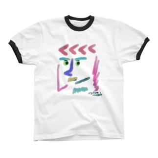 おじぇっぷさん Ringer T-shirts