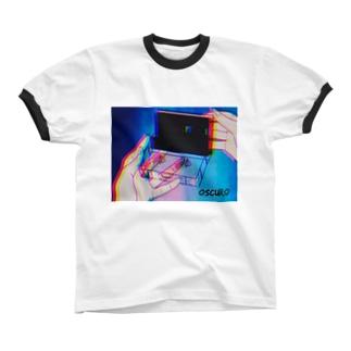Cassette tape リンガーTシャツ