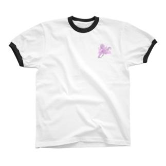 チーム赤坂 リンガーTシャツ  リンガーTシャツ