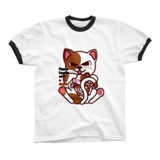 smileCat リンガーTシャツ