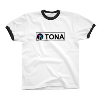 TONA2 リンガーTシャツ