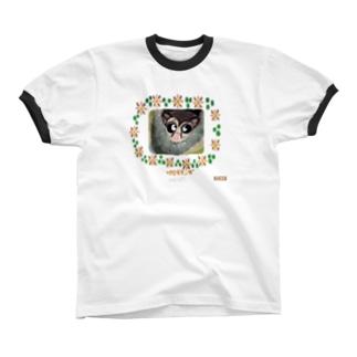 フクロモモンガ リンガーTシャツ